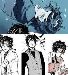 "noalani:   JAMES HERONDALE: ""Love has ruined my whole damn life.""  Already he's breaking hearts of fangirls all around. Art by the amazing C..."