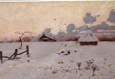 L. Birge Harrison Winter Landscape