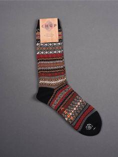 Chup Socks - Natur - Black