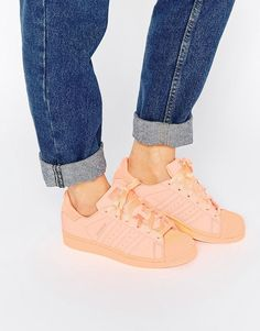 new style 38015 8c378 adidas Originals Superstar Super Colour Sun Glow Trainers at asos.com