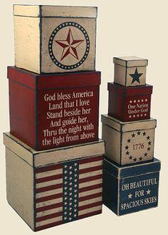 Americana Stencil Set                                                                                                                                                                                 Mais