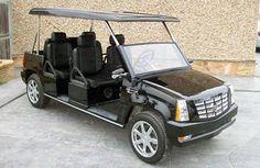 2009 Cadillac Escalade Limo Golf Cart $18500