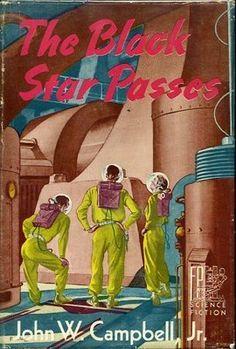 The Black Star PASSES John w Campbell 1953 HC 1st