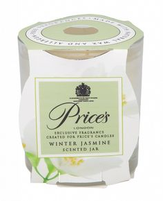 Prices Candles Scented Jar Winter Jasmine