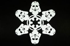 How to Make Star Wars Snowflakes: 10 Steps (with Pictures)