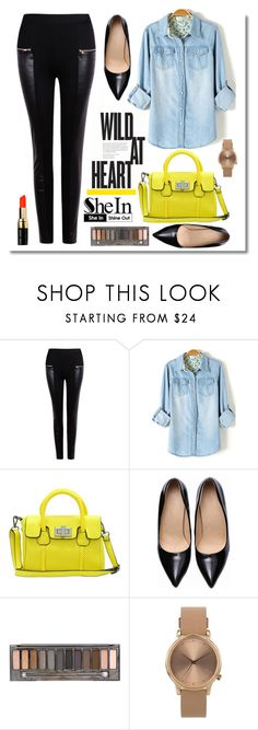 """Shein Pants"" by dora04 ❤ liked on Polyvore featuring Urban Decay, Topshop and Bobbi Brown Cosmetics"