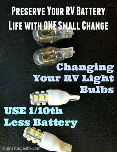 Why You Should Change Your RV Lights To LED - RV & Camper LED Lighting