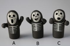 はにわ「ホラーはにわ」A、B、C |置物|はにわ堂|ハンドメイド通販・販売のCreema