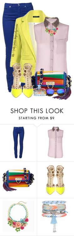 """~  Pastel Colors Block  ~"" by pretty-fashion-designs ❤ liked on Polyvore featuring Sparks, Salvatore Ferragamo and New Look"