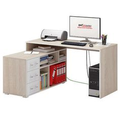 Угловой компьютерный стол Краст-2 — основная большая