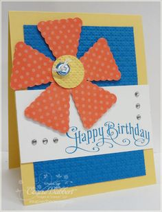 Stampin Up Pennant Punch - what a great idea!