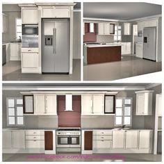 3D kitchen design, Franschoek Estate 3d Kitchen Design, Conceptual Design, Kitchen Cabinets, Home Decor, Decoration Home, Room Decor, Cabinets, Home Interior Design, Dressers