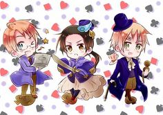 HeartfulStitch Photo: ~Hetalia Cardverse: The Spades~