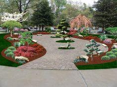 "Japanese Garden ""Computer Design"" . Lee's Oriental Landscape Art - YouTube"