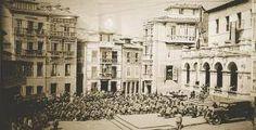Historia del Occidente. Los Nacionales en 1937 en Tineo