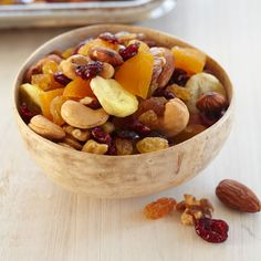 Nourish Organic Foods - This organic Fruit & Nut Trail Mix is a Nourish team favorite! It's a delicious blend of raw almonds, cashews and walnuts, which get a sweet pairing with yummy dried fruits. Trail Mix Recipes, Snack Mix Recipes, Yummy Snacks, Wine Recipes, Snack Mixes, Picnic Recipes, Picnic Ideas, Cooking Recipes, Yummy Food