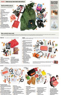 Investing in survival gear can significantly improve your chances of surviving a natural disaster. You should put together an extensive survival kit and Survival Supplies, Survival Food, Camping Survival, Outdoor Survival, Survival Knife, Survival Prepping, Survival Skills, Survival Hacks, Survival Stuff