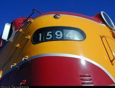 RailPictures.Net Photo: FEC 1594 Florida East Coast Railroad (FEC) EMD E9(A) at Jacksonville, Florida by Leo King