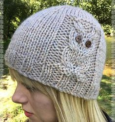Owl Beanie 4 sizes