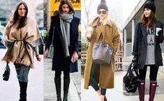 Einfach nur dick einmümmeln und ab durch durchs Schneegestöber? #Winter geht auch stylish! Wie beispielsweise diese 16 Looks für die #Kälte beweisen! #Outfits #Fashion