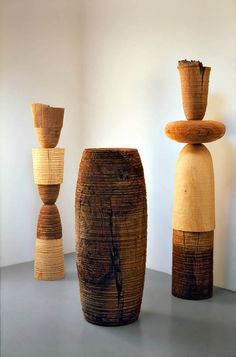 TOTEMICGROUP in wood by Mark Lindquist