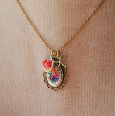 This would be so cute for bridesmaids.  Vintage Floral Delights by Make Pie Not War
