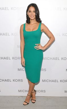 Emerald Sheath from Olivia Munn's Best Looks | E! Online