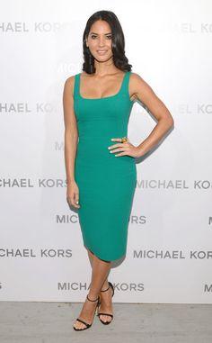 Emerald Sheath from Olivia Munn's Best Looks | E! Online