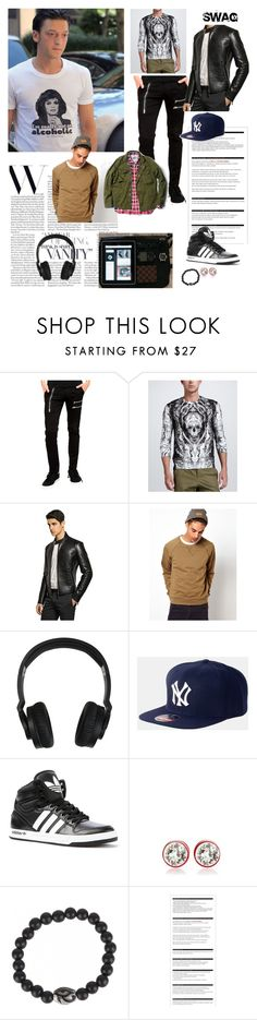 """Mesut Ozil"" by mariana-summer ❤ liked on Polyvore featuring Alexander McQueen, Emporio Armani, Cheap Monday, Nixon, American Needle, adidas, Givenchy, Luis Morais and Arche"