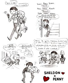 TBBT - Shenny dump by sallychan on DeviantArt Penny And Sheldon, Laughter Therapy, Freaks And Geeks, I Ship It, Cutest Thing Ever, Big Bang Theory, Knock Knock, Bigbang, Fangirl
