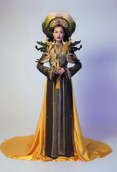 Trang phục truyền thống lạ mắt Lệ Hằng mặc ở Miss Universe hình ảnh 6