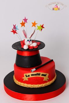 Tort aniversar cu magie Cakes For Boys, Cake Art, Valentines Day, Sugar, Big People, Sweet, Desserts, Kids, Yummy Yummy