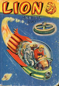 Space Age Book ~ Lion Annual, 1957
