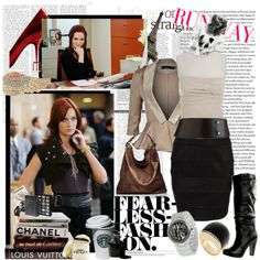The Devil Wears Prada: Emily, created by jess-h on Polyvore