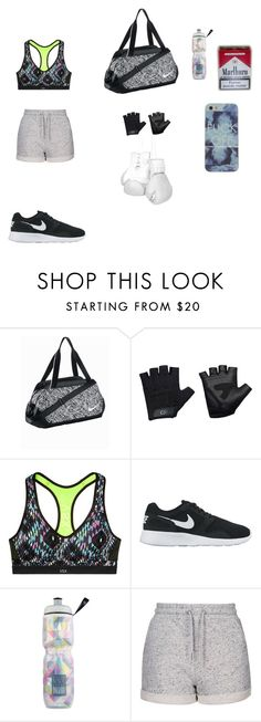 """sportswear"" by camelia-kaylahana on Polyvore featuring NIKE, Casall, Victoria's Secret, Topshop, Elisabeth Weinstock, women's clothing, women, female, woman and misses"