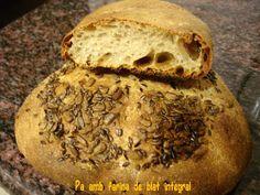 Pim, pam... pa!: Pa amb farina de blat integral (2)