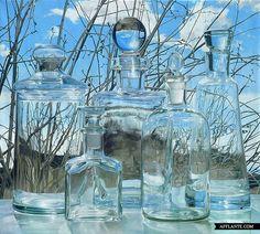 'Glass Still Lifes' Paintings / Steve Smulka