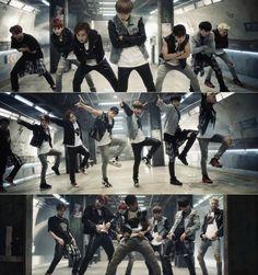 BTS tease with their intense dance moves in MV teaser for 'Danger' - Latest K-pop News - K-pop News Jimin, Jungkook And Jin, Bts Bangtan Boy, Cnblue, Btob, K Pop, Bts Danger, Bts Mv, Bts Inspired Outfits