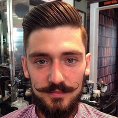 20 Hottest Short Sides Long Top Haircuts - Men's Hairstyles Short Sides Long Top, Long Tops, Pompadour Hairstyle, Hot Shorts, Men's Hairstyles, Moustache, Haircuts For Men, Bearded Men, Gentleman