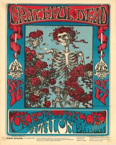 Most famous Fillmore poster
