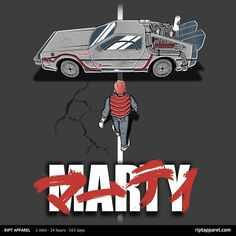 AKIRA Themed T-Shirt Designs for BACK TO THE FUTURE and DRIVE — GeekTyrant