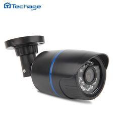 Techage HD 1080P IP Camera ONVIF P2P Motion Detection Surveillance h.264 2.0MP IP Cam Indoor Outdoor Waterproof CCTV Camera