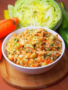 Surówka kopenhaska Appetizer Salads, Appetizers, Polish Recipes, Superfoods, Risotto, Macaroni And Cheese, Food To Make, Curry, Food And Drink