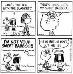 Snoopy - Sally and Sweet Babboo