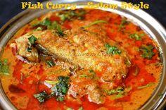 Fish Curry - Salem Style via Sandra Angelozzi