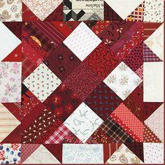 Talkin' Turkey! by Bonnie Hunter of quiltville.com; Quiltmaker's 100 Blocks Volume 5; quiltmaker.com/100blocks