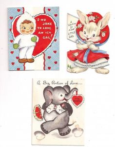 Juvenile Valentine Greetings! @ Vintage Touch $6.00