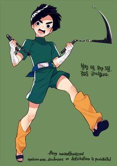 담아감 Lee Naruto, Naruto Boys, Naruto Y Boruto, Naruto Comic, Naruto Art, Gaara, Anime Naruto, Hinata, Sasuke
