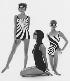 pjmix:    Op Art-bathing suits Hamburg 1966 (via ana_lee: F.C. Gundlach. Vol. 2.)