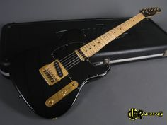 1981 Fender Telecaster - Black & Gold (Ltd Collectors edition)-Vi81FeTeBlkGldCE14492